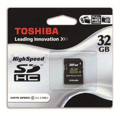 Toshiba SDHC 32GB