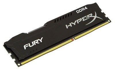 8GB Kngston HyperX Fury DDR4 2400Mhz Memory Module (HX424C15FB2/8)