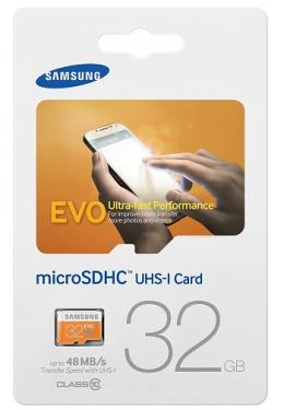 Samsung MicroSDHC  32GB (MB-MP32D)